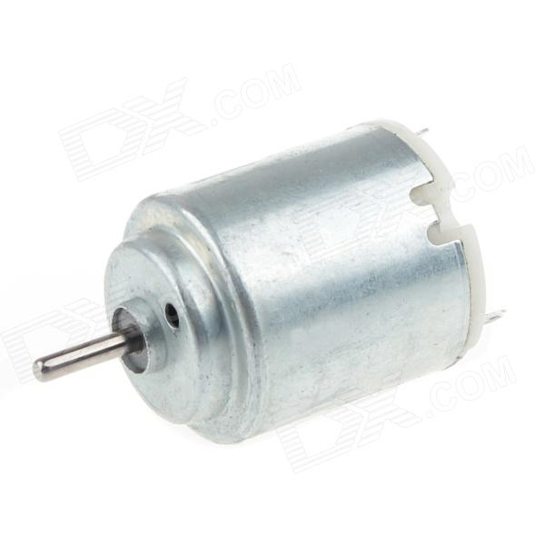 CCDJ DIY 140 DC Toy / HM Micro Motor - Silver Grey (1.5~6V) ccdj 385 diy copier motor vacuum cleaner motor dryer machine motor 3v 48v 800 20000 rev min