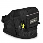 ROSWHEEL 13691-AL Bicycle Saddle Bag - Black (Size-L)