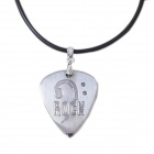 DEDO MG-13 Rock Stainless Steel Necklace Guitar Picks - Silver