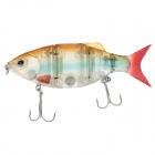 Trulinoya DW26-B Multi Jointed Fishing LIFE-LIKE Lure Bait Fishing Lure w/ 2 Hook - (110mm / 27g)
