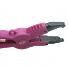 LOOF JR-608 Professional Justerbar Hair Extension Fusion Heat Gun Iron Connector-svart (US Plugger)