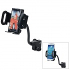 360 Degree Rotary Car Mobile Phone Mount Holder - Black