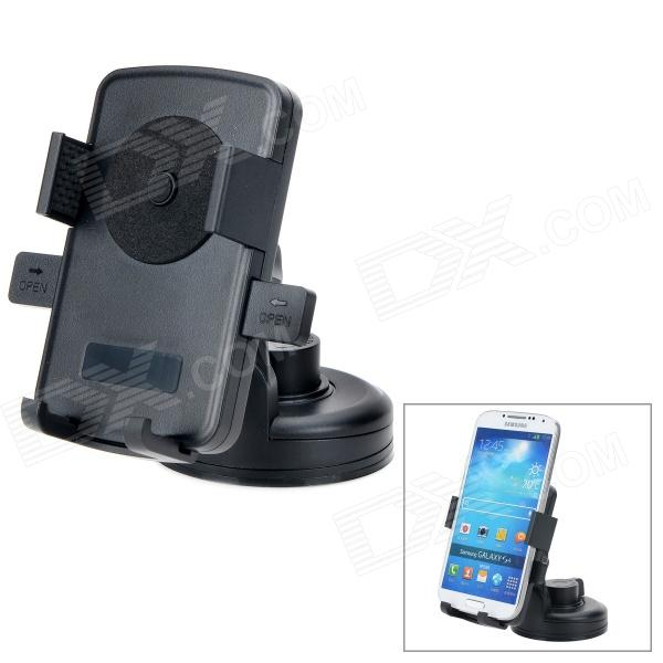066-068 360 Degree Rotary Car Plastic GPS Mount Holder - Black трансформаторы купить т 066 уз 200 5