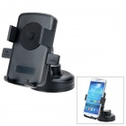 066-068 360 Degree Rotary Car Plastic GPS Mount Holder - Black