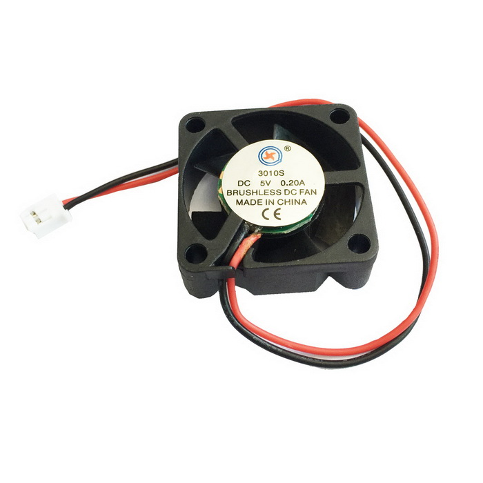 AV-0.2A 5V 2-Pin HDD 7-Blade Cooling Fan - Black пластик для принтера 3d xyz abs зеленый 1 75 мм 600гр rf10xxeuzwk
