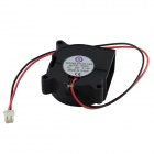 AV-0.13A 24V 2-Pin HDD 27-Blade Cooling Fan - Black + Red