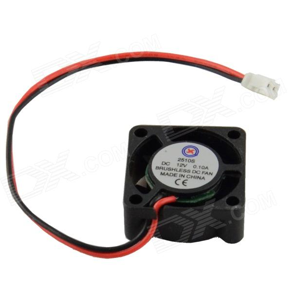 AV-0.1A 12V 2-Pin HDD 5-Blade Cooling Fan 520w cooling capacity fridge compressor r134a suitable for supermaket cooling equipment