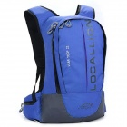 LKLR 439 Outdoor Sports Nylon Backpack - Blue (22L)