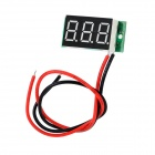 "SJ-DC036-A 2-wire 0.4"" 3-digit Digital Readout Voltmeter Module w/ Reverse Protection - Multicolored"