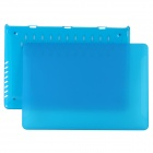 "BTA Protective Matte Plastic Case for APPLE MACBOOK PRO RETINA 15.4"" - Blue"
