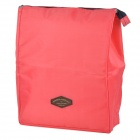 Almoço Creeper Outdoor Oxford isolamento Bolsa para Picnic - Deep Pink (15L)