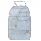 R168 Car Multifunctional Organizer Storage Bag - Light Grey