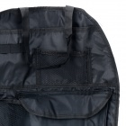 R168 Car Multifuncional Organizador Storage Bag - Preto