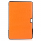 "bta Lizard Pattern Protective Plastic Case for Apple MacBook Air 11.6"" - Orange"