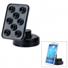 159-069 360 Degree Rotary Car Mobile Phone GPS Mount Holder - Black
