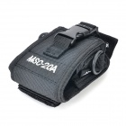 Conveniente Nylon bolsa caso correa ajustable para Walkie Talkie - negro