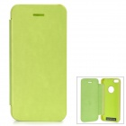 Protective Aluminum Alloy + PU Case for IPHONE 5S / 5 - Green