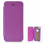 Protective Aluminum Alloy + PU Case for IPHONE 5S / 5 - Purple