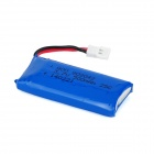 Replacement 3.7V 500mAh 25C Lithium Polymer Battery for H107 - Blue