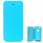 Protective Aluminum Alloy + PU Case for IPHONE 5 / 5S - Blue