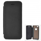 Protective Aluminum Alloy + PU Case for IPHONE 5S / 5 - Black