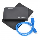 "MAIWO K2503U3S USB 3.0 SATA Serial Free- Vite Mobile 2.5 "" HDD Enclosure - Nero"