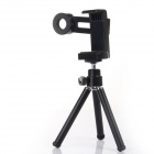 MT080 Universal 12X Telescope for Mobile Phone - Silver + Black