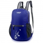 Creeper YD-213 Outdoor Sports Waterproof Lightweight Folding Polyester Backpack - Dark Blue (16L)