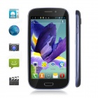 "SunCorp MTK6515 Android 4.0 GSM Bar Phone w/ 4.63"" / Wi-Fi / FM - Black + Blue Grey"