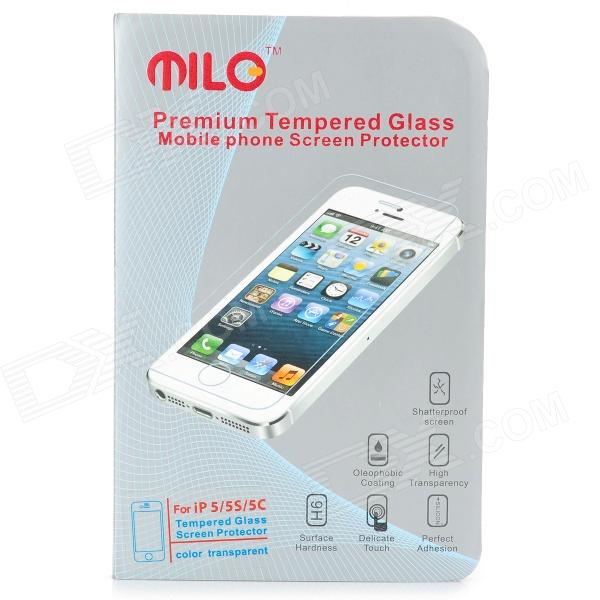MILO P13 0.3mm 9H Tempered Glass Clear Screen Protector for IPHONE 5 / 5S / 5C защитные стекла liberty project защитное стекло lp для nokia 630 tempered glass 0 33 мм 9h ударопрочное