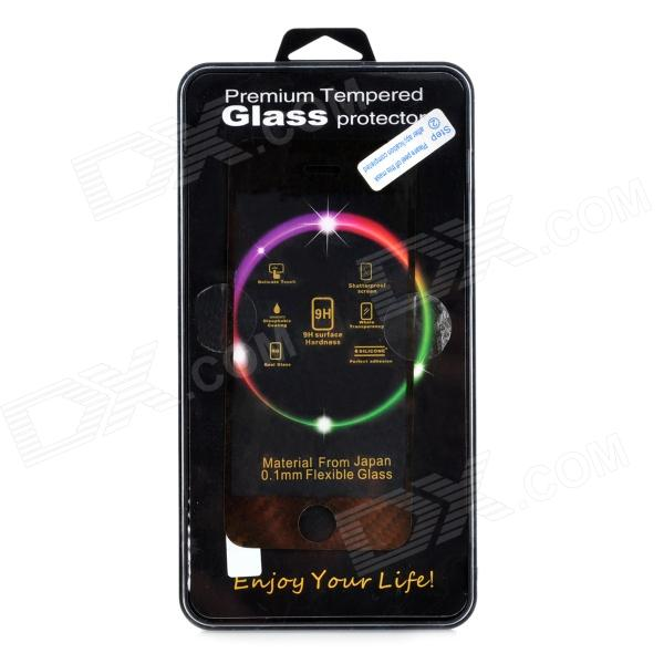 ieasypatch Laser electro 9H Glass Mirror Screen Protector for iPhone 5 / 5S - gylne