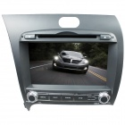 "LsqSTAR ST-8150R 8"" Touch Screen 2-DIN Car DVD Player w/ GPS, AM, FM for KIA K3 / Forte / Cerato"
