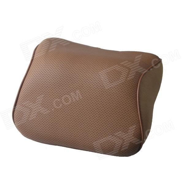 Comfortable Soft Memory Foam Car Neck Cushion Pillow - Brown night therapy adjustable memory foam pillow
