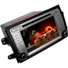 "LsqSTAR ST-7123R 7"" Touch Screen 2-DIN Car DVD Player w/ GPS, FM, AM for Suzuki SX4 - Silver + Black"