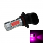 9006 / HB4 7.5W 400lm 5-LED Pink Purple Light Car Foglight / Headlamp / Tail Light (12~24V)
