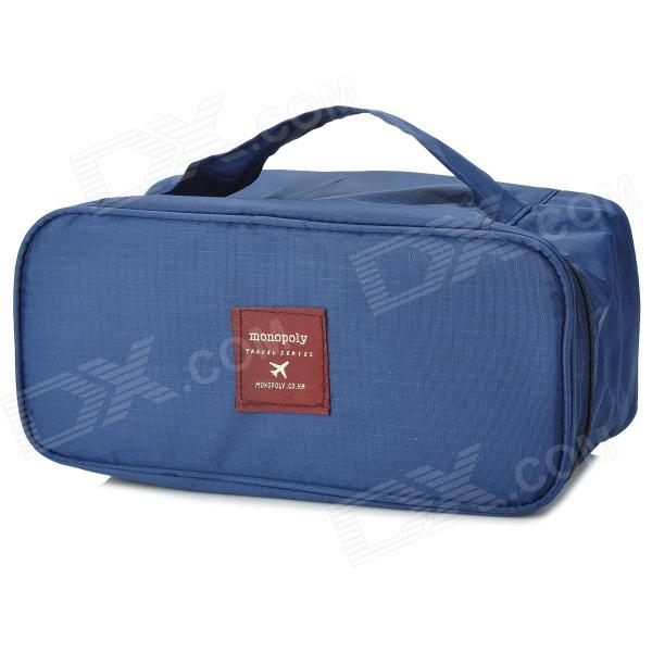 Creative Travel Underwear Packing Organizer Storage Pouch - Deep Blue