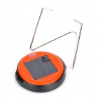Multi-Functional 0.5W Rechargeable Solar Lamp w/ Stand - Orange + Black