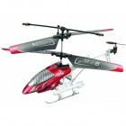 6602D Shockproof 3.5-CH R/C Helicopter w/ IR Remote Control - Red (6 x AA)