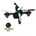 Brilink BH17 Mini 4-CH 2.4G Video Recording R/C Aircraft w/ 0.3m Camera/ 6-Axis Gyro - Black+Green