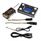 SangpuRC GY280 Flybarless System 2.4G Receiver w/t Program Card w/t Boost Module - Black