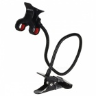 CHOYO 2227-M4 Double Clip Lazy Desktop Flexible Neck Clip Holder for MP4 / Mobil Phone / PDA / PSP