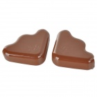 Children Safety Desk Table Corner Guard Cover - Coffee (2 PCS)
