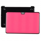 "bta Lizard Pattern Protective Plastic Case for Apple MacBook Air 11.6"" - Pink + Black"