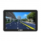 "Edaohang E751 7"" Touch Screen LCD WinCE 6.0 GPS Navigator w/  FM /  4GB - Black"