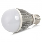 E27 7W 7-LED Warm White & White Light Lamp - Silver
