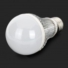 Aluminum 6W 6-LED Bulb Shell Kit - Silver