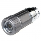 Zhishunjia Mini Car Charger Powered Rechargeable  6500K 60-Lumen 1-LED Flashlight - Grey(DC 12V)