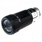 Zhishunjia Mini Car Charger Powered Rechargeable  6500K 60-Lumen 1-LED Flashlight - Black (DC 12V)
