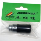 Zhishunjia Mini billader Powered oppladbart 6500K 60-lumen 1-LED lommelykt-svart (DC 12V)