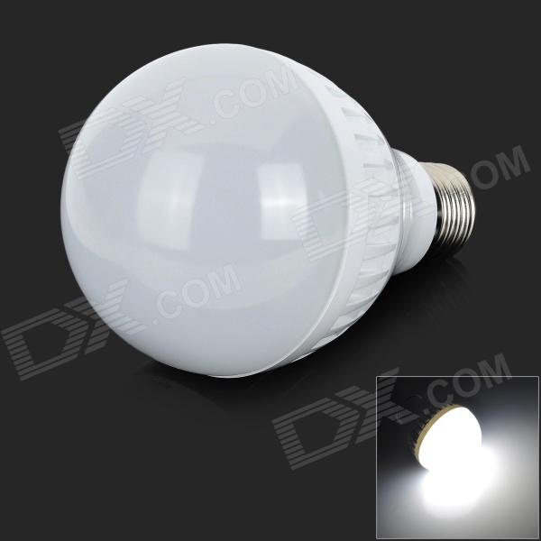 ZDM E27 7W 450lm 8500K 30-SMD 2835 LED White Light Bulb - White + Silver (220~240V) barrow tzs1 a02 yklzs1 t01 g1 4 white black silver gold acrylic water cooling plug coins can be used to twist the